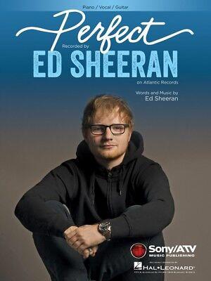 Perfect Sheet Music Piano Vocal Ed Sheeran New 000260835