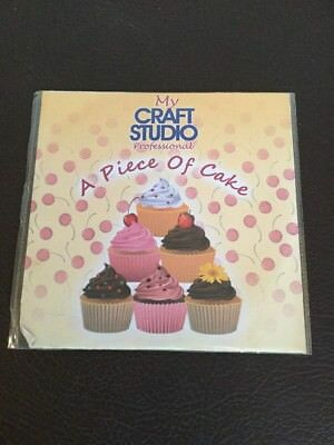 A Piece Of Cake - My Craft Studio Professional PC CD Rom Paper Crafting Cards