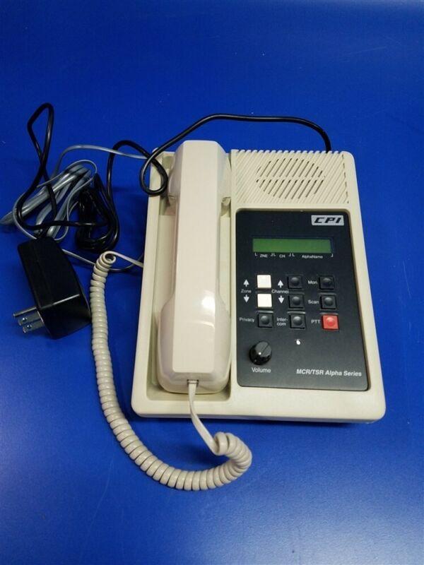 TSR(K)100A Telephone Style Remote Control Unit / Kenwood -150 -180 -5710 Radios