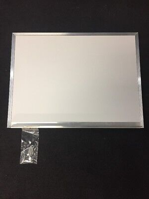 New Wall Mount Dry Erase White Board 24x18 w/Marker Tray Aluminum Frame  Frame Wall Mount Whiteboard