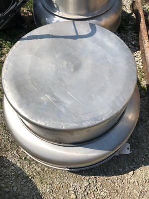 Used Greenheck G-150-b Centrifugal Exhaust Fan Downblast