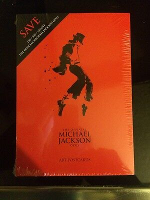 Michael Jackson The Official Opus Art Postcards New Sealed  Rare