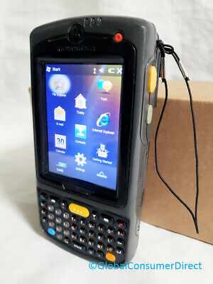Motorola Mc75a0-py0swqqa9wr 1d Laser Barcode Scanner Pda Wm6.5 Wifi Camera Bt