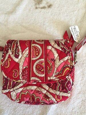 Vera Bradley Little Hip Bag in Rosy  Posey