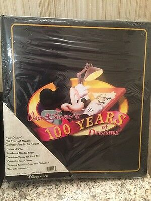 Disney 100 Years of Dreams Collector Pin Series Album *New*