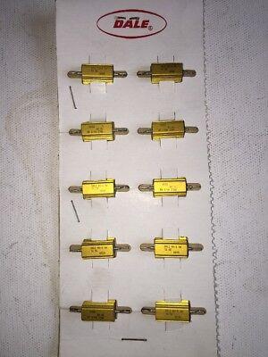 Dale 10 Pack 1 Ohm 5 Watt Resistors 5 Tolorence