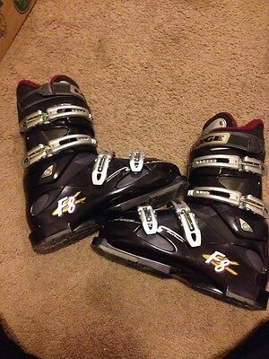 Lange F8 Softech Ski Boots Mono 26.5(8.5) Comfort Fit Men Women's - Comfort Fit Ski Boots