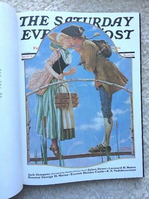 Norman Rockwell & Saturday Evening Post 1194/1500 1976 Early Middle Later Years