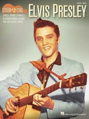 Elvis Presley Strum & Sing Guitar Sheet Music Strum and Sing Book NEW 000198890