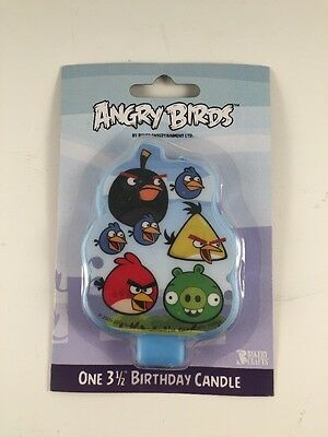 "Bakery Crafts Angry Birds Birthday Candle, 3.5""   A1959V"
