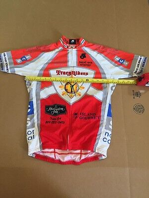 Sommerville Sports Short Sleeve Cycling Jersey Club Cut Men/'s XS Brand New