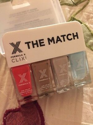Formula X The Match Clix! Medium to Deep Skin Tones 4 Shades~NIB! ()