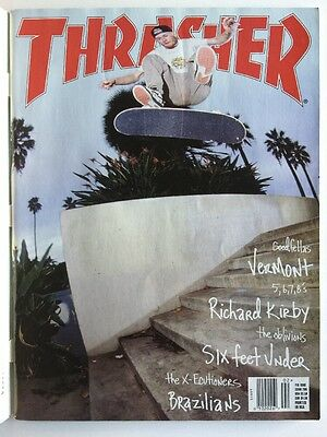 d44820597dd Thrasher Skateboard Magazine February 1998 Richard Kirby Six Feet Under  Vermont