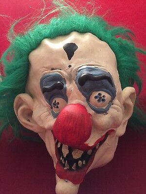 Paper Magic Group Inc (PMG The Paper Magic Group, Inc Evil Clown Mask Green)