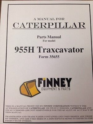 Cat Caterpillar 955h Crawler Loader Dozer Parts Manual Book New 60a8413 And Up