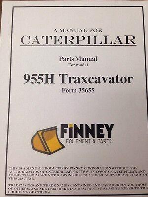 Cat Caterpillar 955h Crawler Loader Dozer Parts Manual Book New 60a8413 And Up