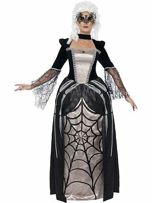Black Widow Baroness Kostüm, EU 40-42, Halloween-Kostümfest (Baroness Halloween Kostüme)