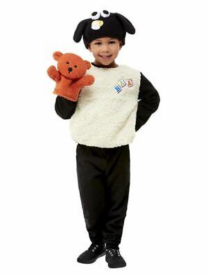 Shaun das Schaf Timmy Kostüm, Weiß, Kostüm Kleinkind, Alter 3-4