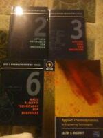 Reed's Text Books - Vol 2, 3, 5, 7, 8, 9,