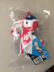 London 2012 Olympics Official Merchandise Soft Toy Keyring