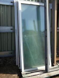 REDUCED TO CLEAR Large Sliding Glass Doors $60.00 each
