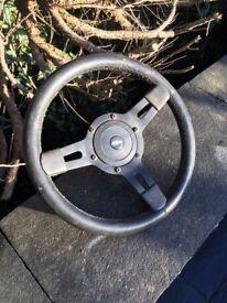 Classic mini mountney steering wheel