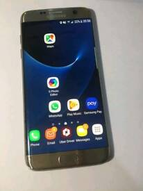 Samsung s7 edge good condition only small crack at the bottom of the screen