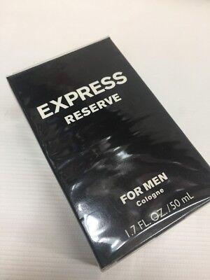 🌟SALE! RARE🌟EXPRESS RESERVE 1.7 oz / 50 ML COLOGNE AUTHENTIC- CLASSIC FORMULA](Express Men Sale)