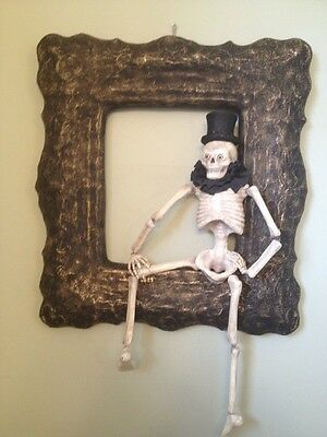 Bethany Lowe Halloween I've Been Framed Skeleton--retired