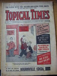 12-11-1938-Topical-Times-Magazine-No-0991-Inside-The-Players-And-Their-Pets