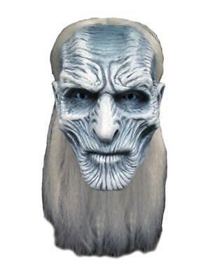 Erwachsene Weiß Walker Maske Kostüm Halloween Monster Game Of Thrones - Game Of Thrones Ghost Kostüm