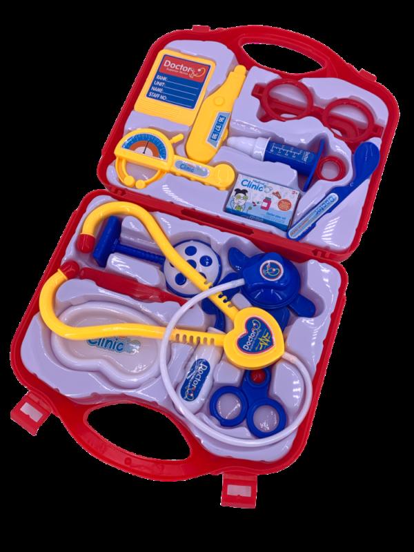 13 tlg. Arztkoffer Doktorkoffer Kinder Rollenspiel Spielzeug Doktor Spiele Arzt