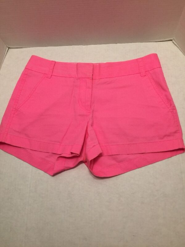 J Crew Hot Pink Broken In Chino 100% Cotton - Size 2