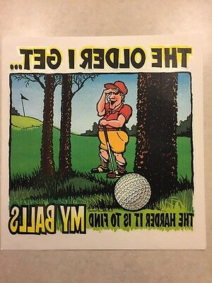 Vintage T-shirt Heat Transfer Older I Get The Harder It Is To Find My Balls 95