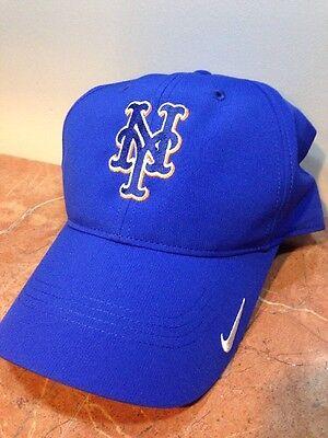 NIKE DRI FIT NEW YORK NY METS MLB BASEBALL BLUE MEN'S MEN GOLF SUN HAT CAP - Ny Mets Hats