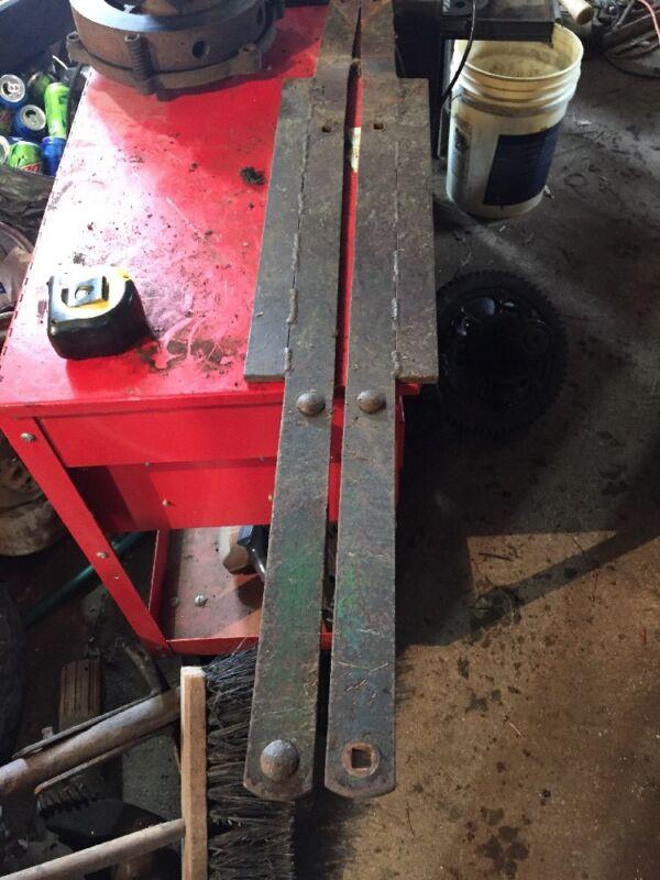 John Deere 14T Baler Rear Chute Hanging Arms.