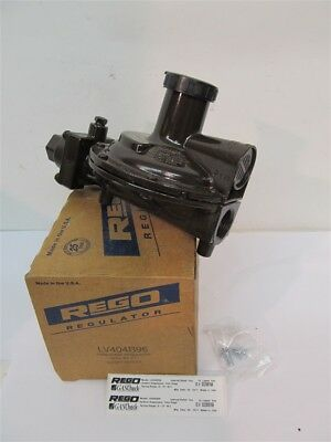 (Rego Regulator LV404B96, Twin Stage Regulator, FPOL Inlet, 3/4