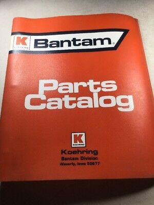 Bantam T-451 Excavator Parts Catalog