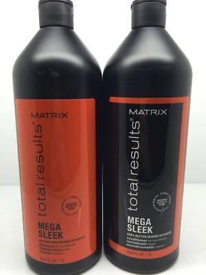 Matrix Total Results Mega Sleek Shampoo and Conditioner Set 33.8 fl. oz.