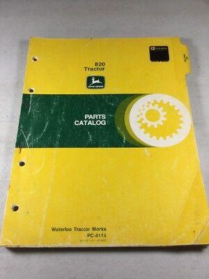 John Deere 820 Tractor Parts Catalog