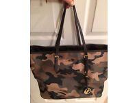 Michael Kors camouflage bag like new .Worn twice.