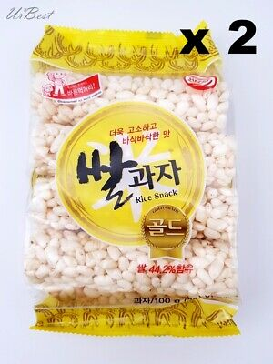 Korean Traditional Rice Churros Snack Honey Rice Soft Sweet Flavor 100g X 2EA