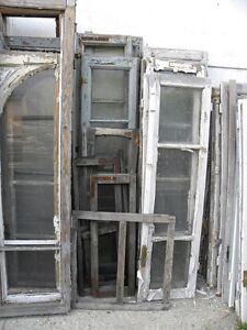Vecchie porte finestre prezzo per la coppia varie misure - Porte e finestre in legno usate ...