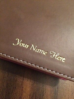 *Add On* Personalized Imprinting - [Add a name to your bible]