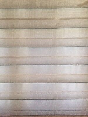 Used, POWDER BLUE PLEATED -FABRIC  CUSTOM-MADE ROMAN SHADE FULLY LINED  for sale  Beverly Hills