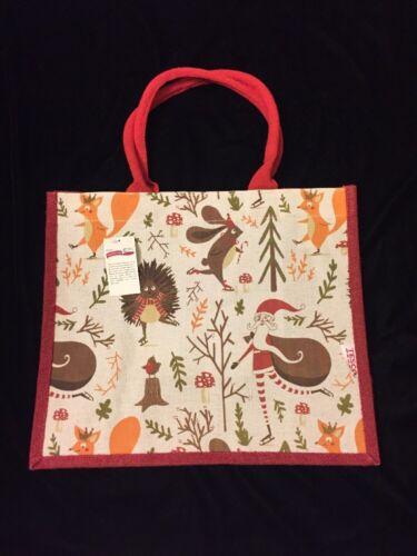 EAN 5053947623295 - Christmas Jute Tote Bag Tesco Deer Heart Fair ...