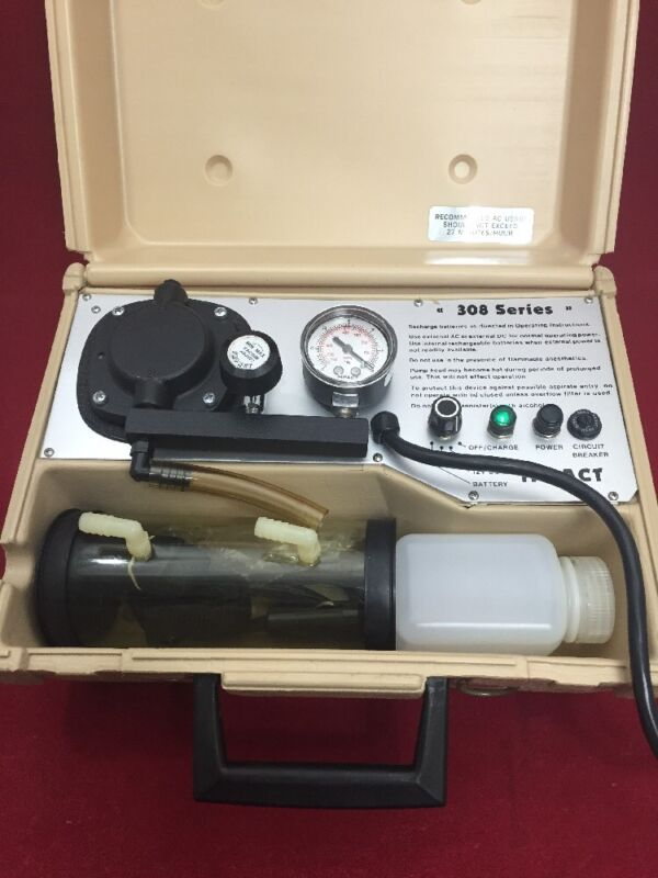 Impact 308m Portable Suction Apparatus Pump Oropharyngeal Good Condition