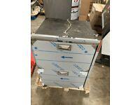 Vitrifrigo DW108ixp4-ef-2 2-drawer Boat refrigerator w/ cosmetic damage to bezel