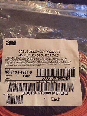 LC-LC Duplex Multimode Cable 62.5/125um Plenum 2 mm 3 Meters T12 125um Duplex Multimode 2 Meters
