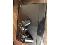 Ps3 console with controller and 18 games!